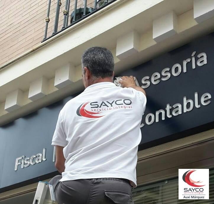 Sayco, tu empresa de limpieza en Huelva