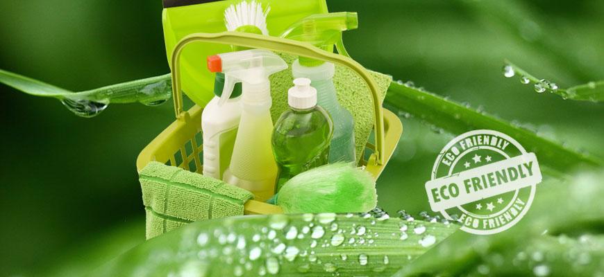Productos de limpieza sostenibles para el medio ambiente